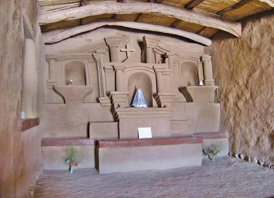 Altar de Adobe Capilla Ntra. Sra. del Rosario Ruta del Adobe