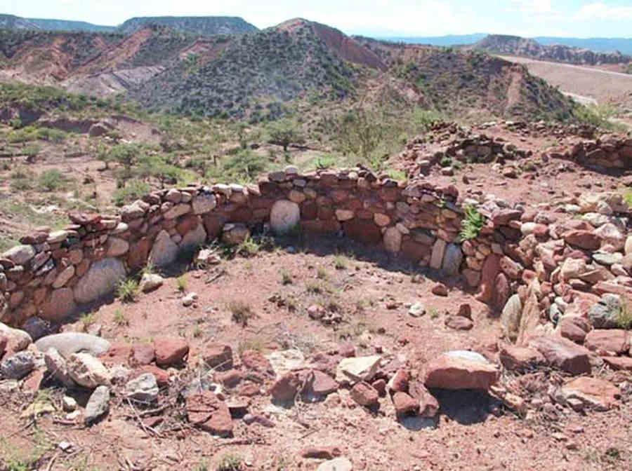 Ruinas incaicas del pucara de Hualfin