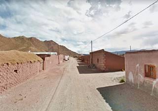 Ruta 40 es la calle principal en en Puesto Sey