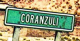 Ruta 40 road sign at Coranzuli