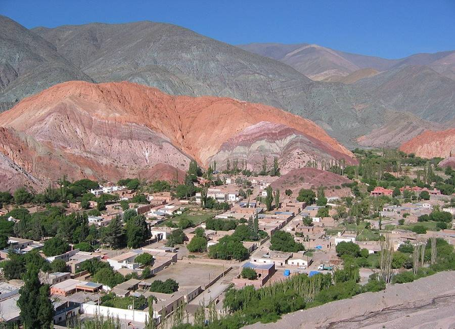 Purmamarca and the Seven Colors Hill