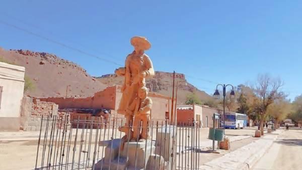 Estatua en Susques foto cortesía de TripAdvisor
