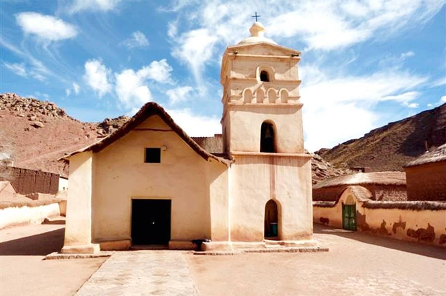Nuestra Señora de Belén church in Susques, Ruta 40 Jujuy