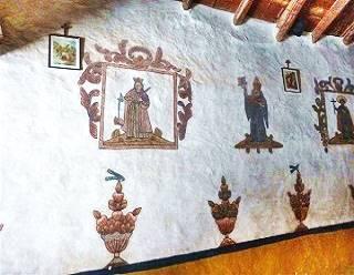 Murales en la Capilla, Susques