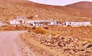 viewo of Ruta 40 in Orosmayo, Jujuy