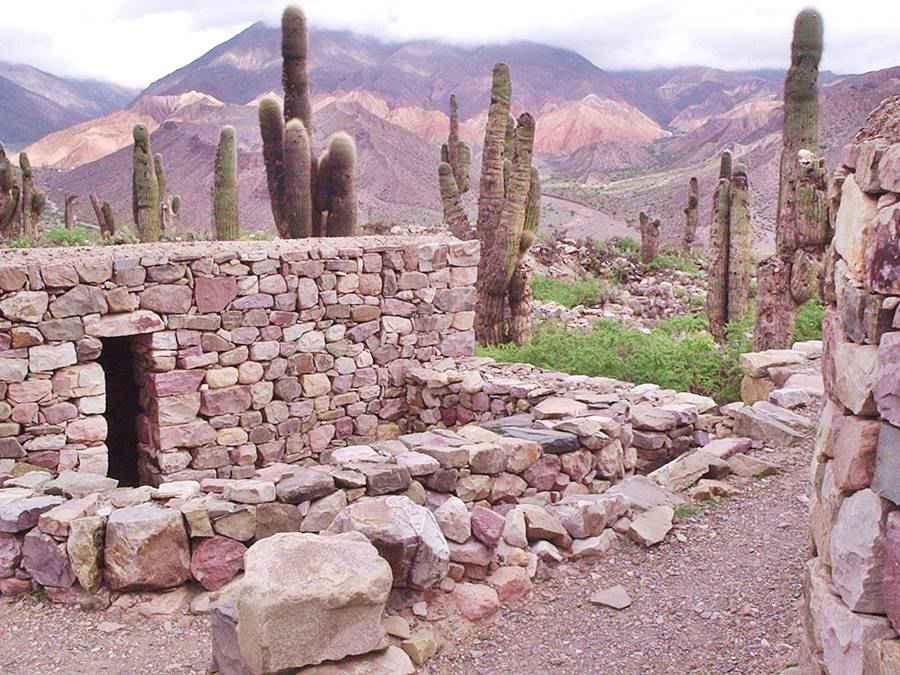 Pucará de Tilcara Inca citadel in the Quebrada de Humahuaca Argentina