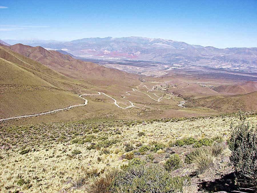 Ruta Provincial 73, bajada a Pucara, Jujuy