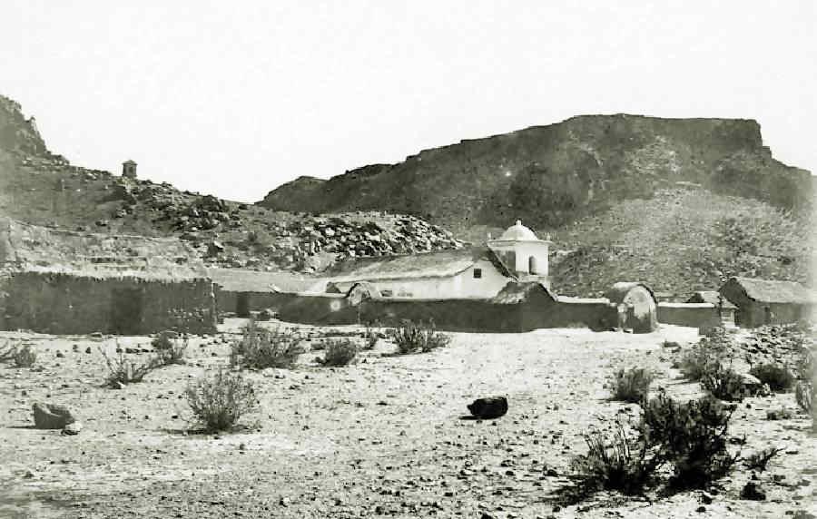 Capilla de Susques en el año 1903