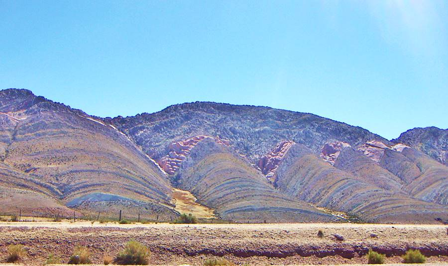 Sierras en Tres Cruces