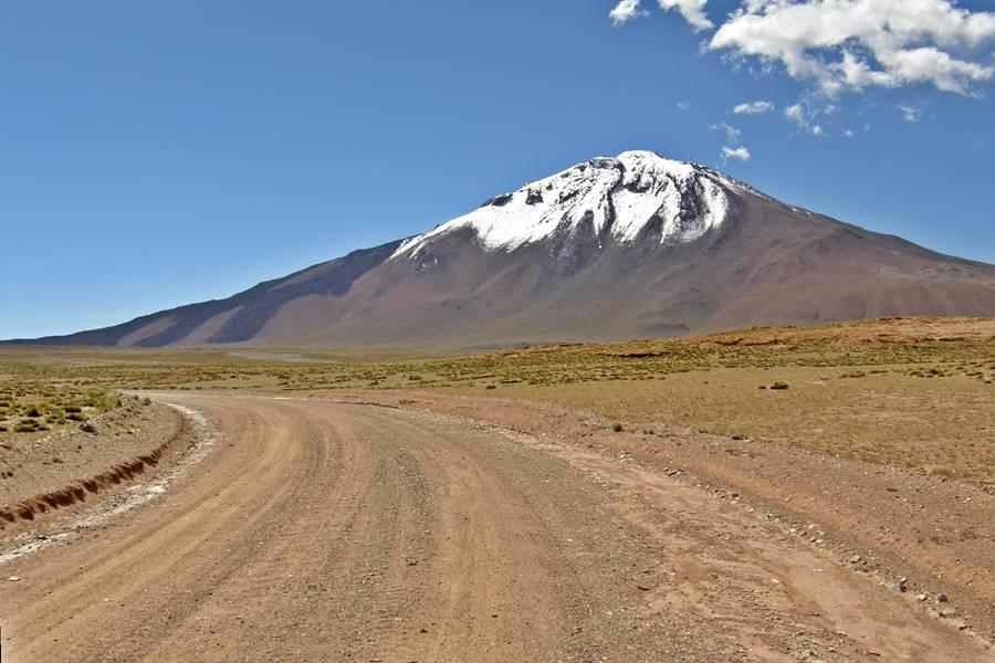 Volcan Tuzgle Ruta 40 en Jujuy