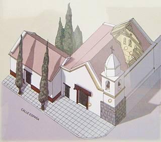 esquema Capilla de Santa Clara de Asís