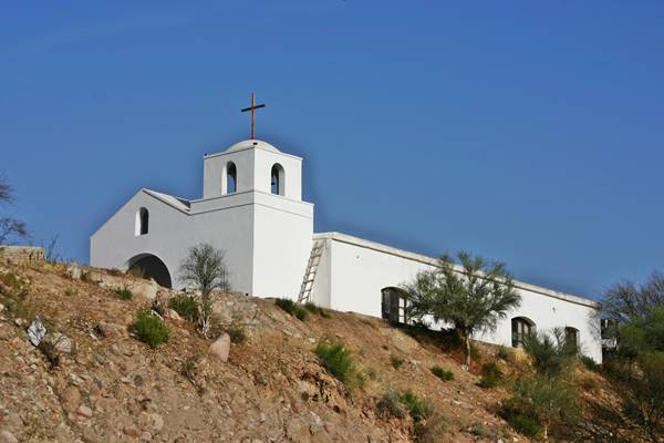 Capilla de Sañogasta cerca de Chilecito
