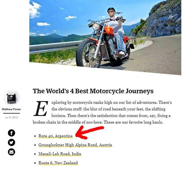 Top 4 viajes en moto en el mundo