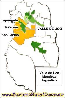 Regiones del vino en Mendoza, Valle de Uco