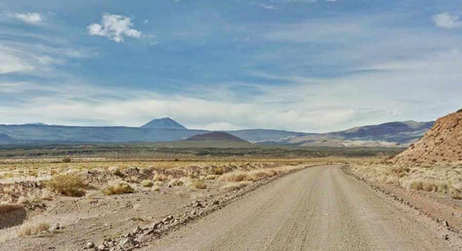 Payún Liso volcano from the Ruta 40, Mendoza