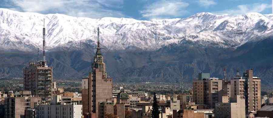 Ciudad de Mendoza y la cordillera Ruta 40, Mendoza Cuyo