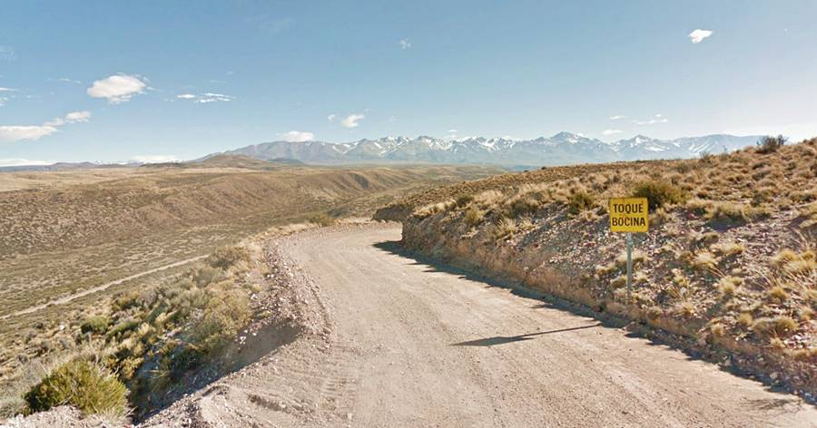 El Valle del Arroyo La Faja Ruta 40, Mendoza