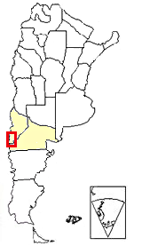 Map of Argentina showing where this section is located