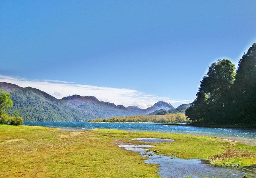Lake Villarino, Neuquén, Ruta 40, Road of the Seven Lakes