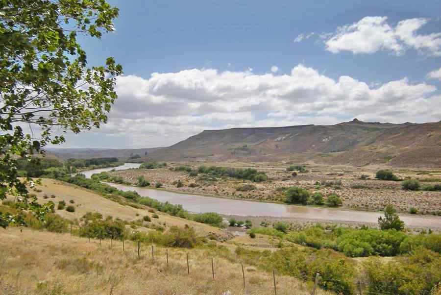 Río Colló Cura, Ruta 40, Neuquén