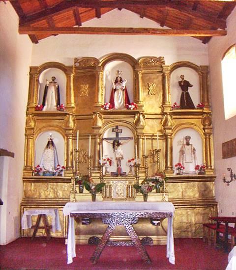 altar de la iglesia de Molinos, Salta