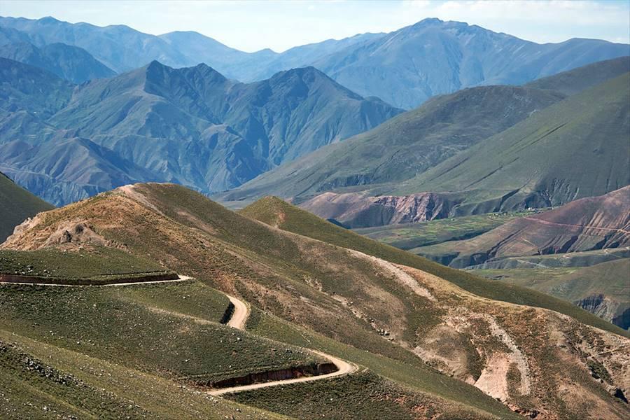Camino a Iruya, Salta desde la Quebrada de Humahuaca