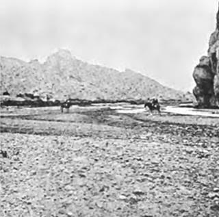 Foto de 1897 de la garganta de las flechas