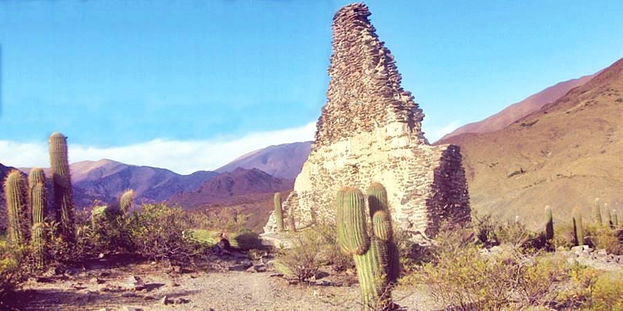 Vista del Potrero de Payogasta en Salta, Ruta 40