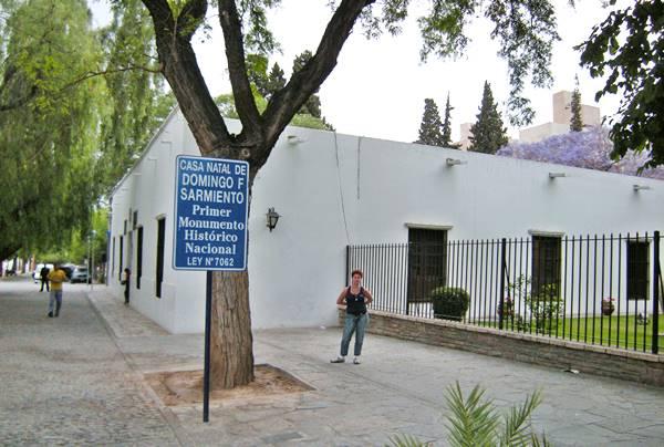 Casa Natal de Domingo Sarmiento Ruta 40, ciudad de San Juan Cuyo