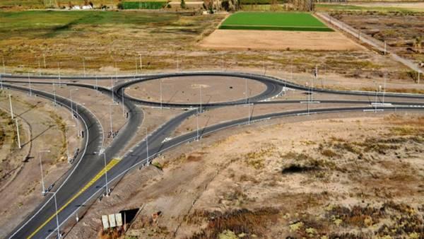 Distribuidor de San Roque Ruta 150 y Ruta 40, San Juan