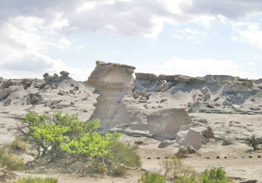"""""""La Esfinge"""" Ischigualasto San Juan"""