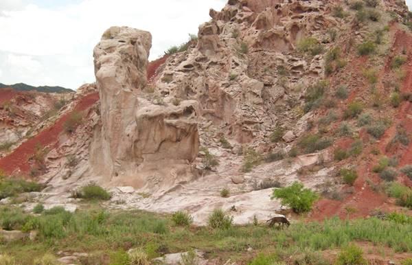 Formación rocosa Sillón del Gigante
