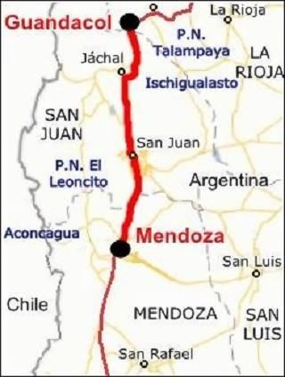 mapa del tramo
