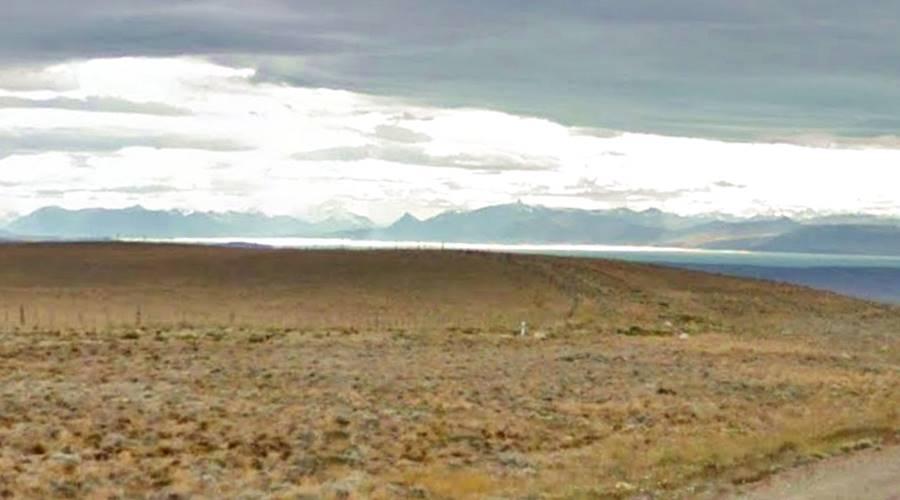 Cuesta de Miguez vista de los Andes y el Lago Argentino Ruta 40 Patagonia