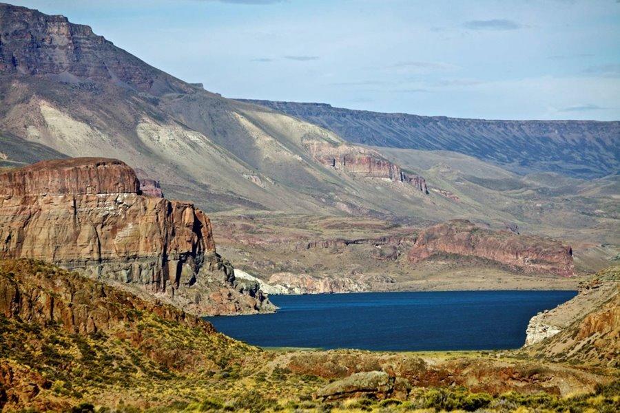 Meseta del Lago Buenos Aires, Parque Nacional Patagonia, Ruta 40, Santa Cruz Patagonia