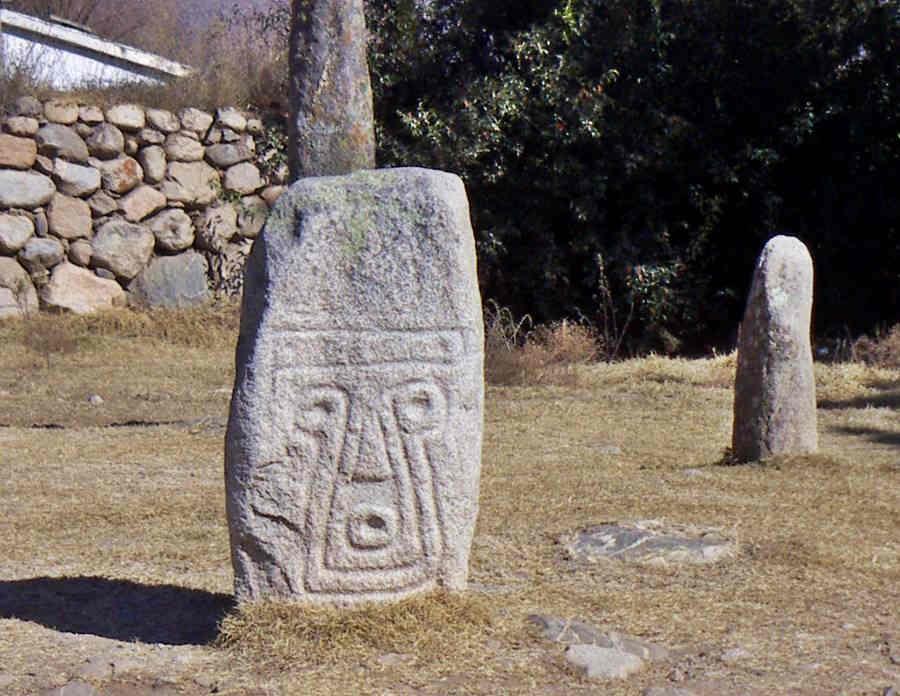 Menhir tallado Tafí del Valle, Tucumán