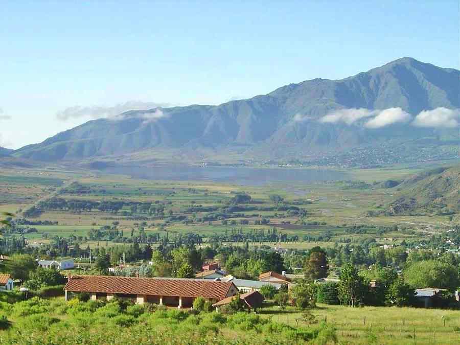 Paisaje de los cerros Tafí del Valle, Tucumán
